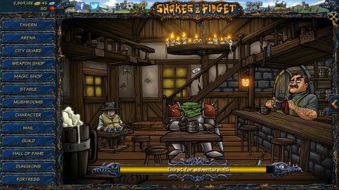 Jaquette de Shakes and Fidget : Un RPG cartoon