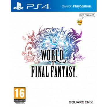 World of Final Fantasy sur PS4