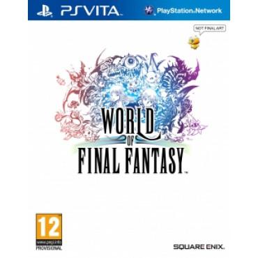 World of Final Fantasy sur Vita