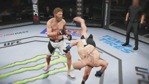 EA Sports UFC 2 : Une victoire par KO
