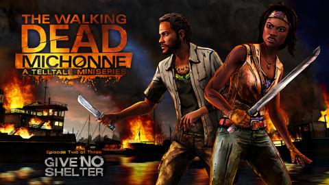 The Walking Dead : Michonne : Episode 2 - Give No Shelter sur PS4