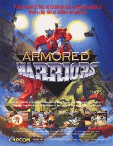 Armored Warriors sur Arcade