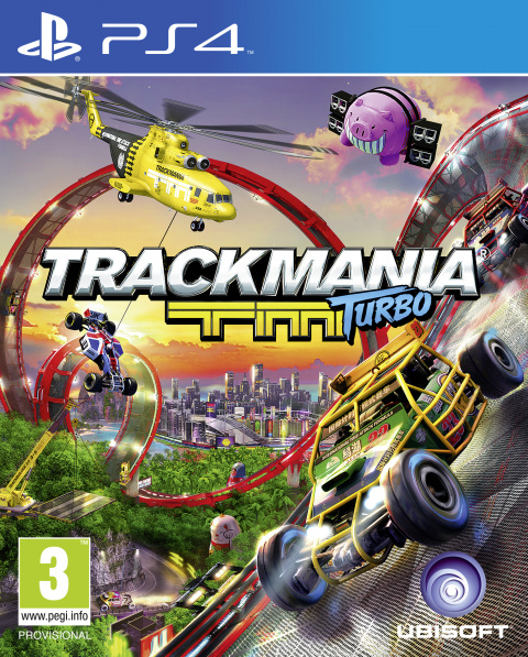 Trackmania Turbo sur PS4