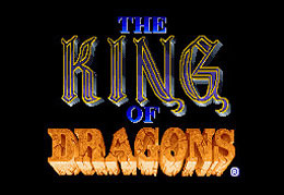 The King of Dragons sur Arcade