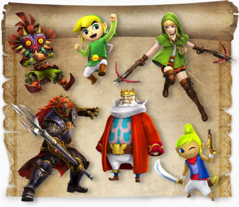 Hyrule Warriors Legends détaille ses DLC