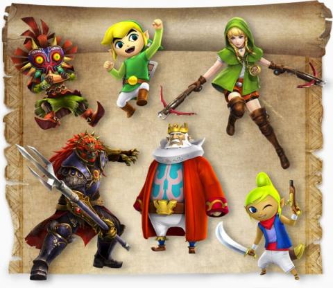 Hyrule Warriors Legends détaille ses DLC