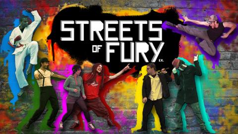 Jaquette de Streets of Fury EX : le jeu de combat sérieusement délirant sur PC