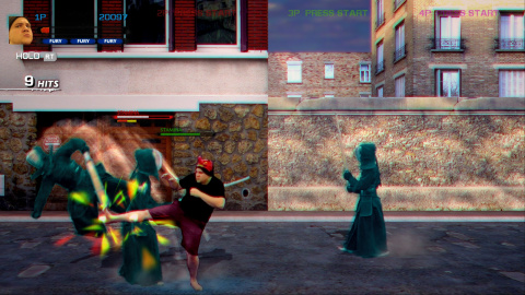 Streets of Fury EX : le jeu de combat sérieusement délirant