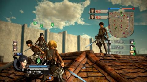 L'Attaque des Titans, de l'anime au jeu vidéo: E3 2016