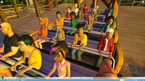 Planet Coaster : un portage solide sur PS5, Xbox Series, PS4 et One