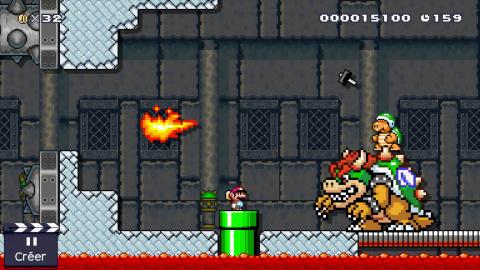 Super Mario Maker : Niveau-maison créé avec la mise à jour de mars