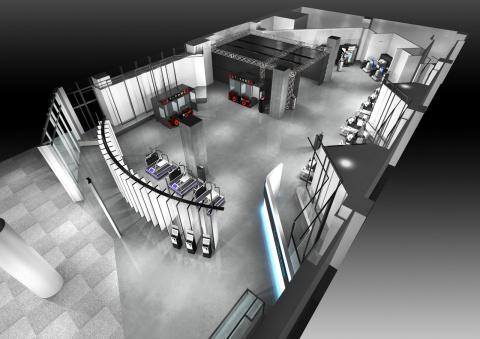 Namco VR Zone : Sauver des chats à 200 mètres du sol, c'est possible grâce à la Réalité Virtuelle