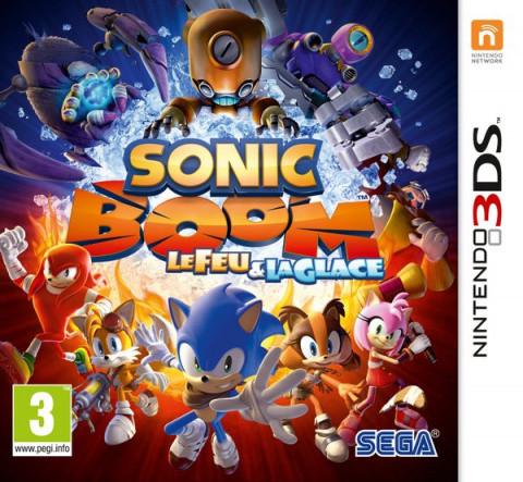 Sonic Boom : le Feu et la Glace sur 3DS