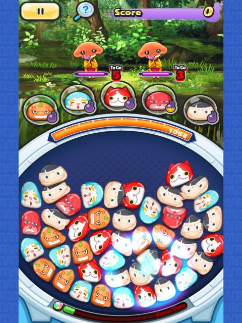 Yo-Kai Watch Wibble Wobble : un mélange entre puzzle-game et match 3 prometteur