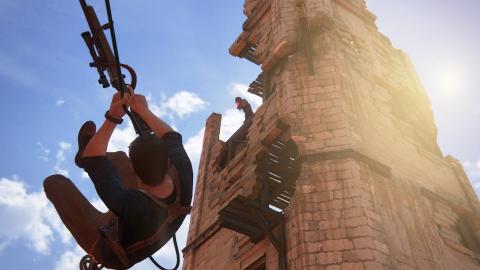 Uncharted 4 - Un solo qui roule des mécaniques