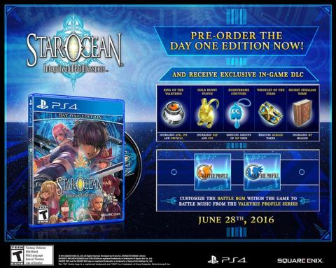 Star Ocean 5 : Integrity and Faithlessness débarque le 1er juillet sur PS4