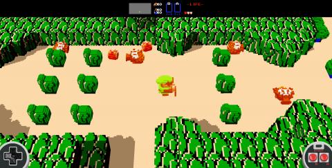 The Legend of Zelda : Une version 3D jouable en navigateur
