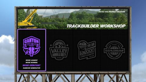 """Débloquer le mode TrackBuilder """"Classic"""""""