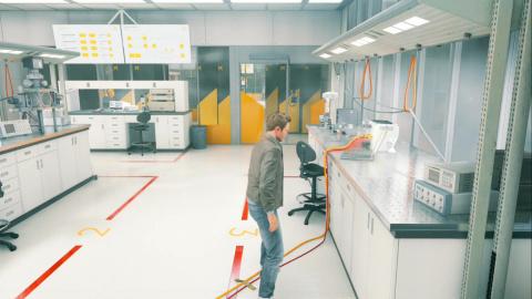 Le centre de recherche
