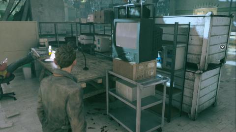 La préparation de la machine