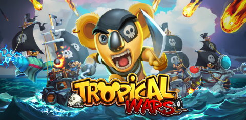 Tropical Wars sur iOS