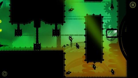 Green Game: TimeSwapper sur Vita