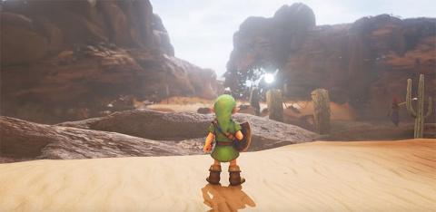 Zelda Ocarina of Time : La vallée Gerudo recréée sous Unreal Engine 4