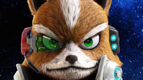 Jaquette de Star Fox Zero : Fox McCloud à l'ancienne, sans doute un peu trop sur WiiU