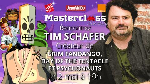 Tim Schafer (Grim Fandango, Psychonauts) à la Masterclass Jeux Vidéo !