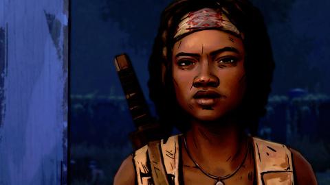 Jaquette de The Walking Dead Michonne : Un spin-off sanglant et réchauffé