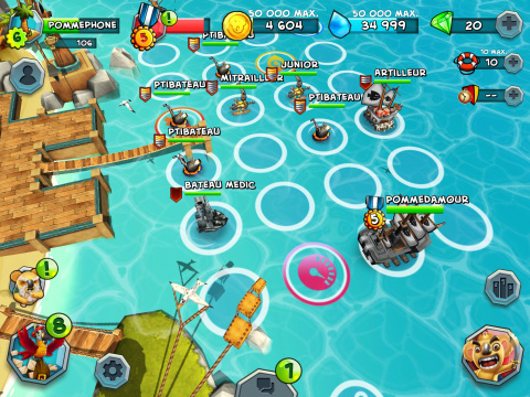 Tropical Wars : les pirates prennent la mer