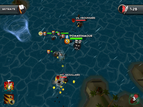 Tropical Wars : les pirates prennent la mer