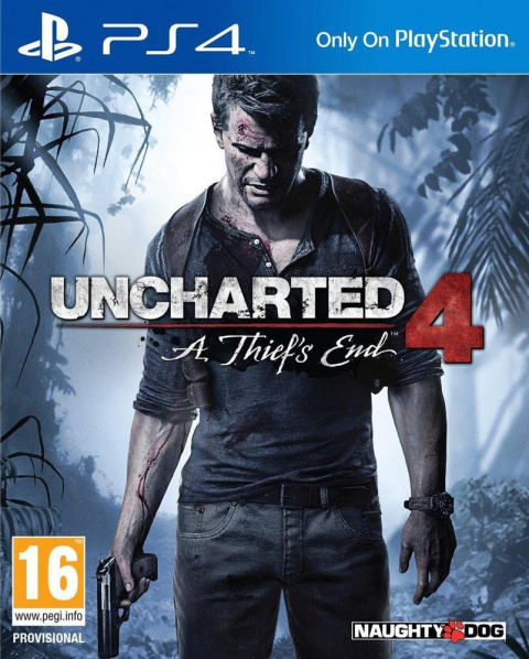 Uncharted 4 : A Thief's End sur PS4