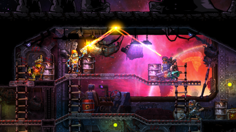SteamWorld Heist débarque fin mai sur Vita et PS4