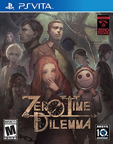 Zero Time Dilemma sur Vita