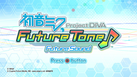 Hatsune Miku Project Diva Future Tone : Future Sound sur PS4