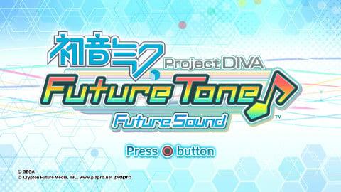 Hatsune Miku Project Diva Future Tone : Future Sound sur PS4