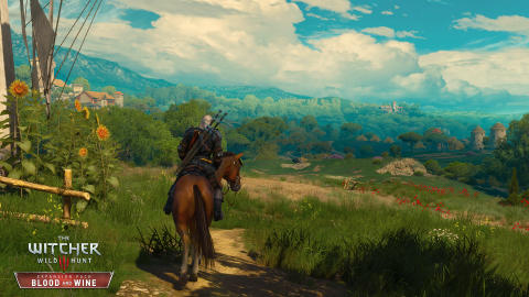 The Witcher 3 Blood and Wine : Balade bucolique à la campagne