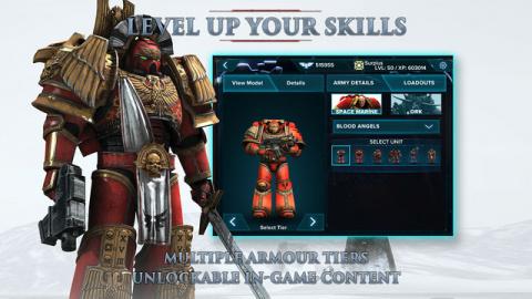 Warhammer 40K Regicide : Les Space Marines envahissent l'App Store