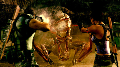 Jaquette de Resident Evil 5 débarque sur Nvidia SHIELD