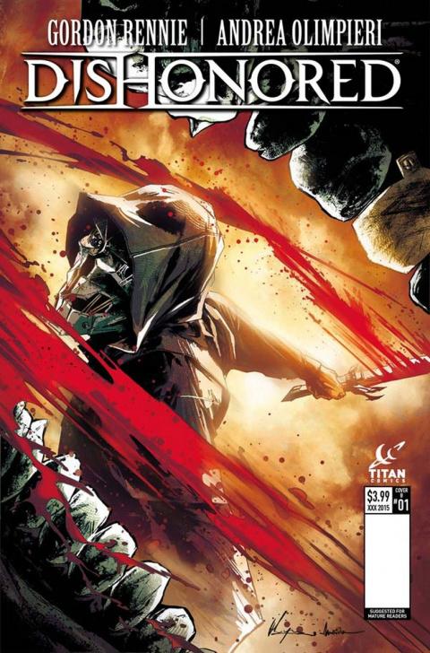 Dishonored bientôt décliné en comic book et en roman