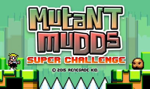 Mutant Mudds Super Challenge sur 3DS