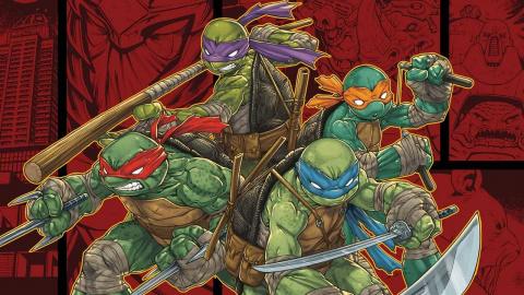 Jaquette de Teenage Mutant Ninja Turtles : Des mutants à Manhattan - Soupe de tortues