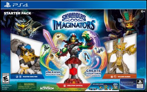 Skylanders Imaginators sur PS4