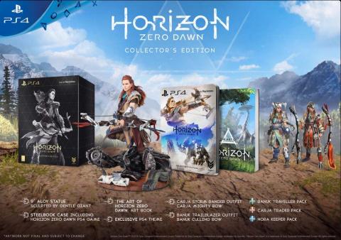Horizon : Zero Dawn officiellement repoussé au 1er mars 2017
