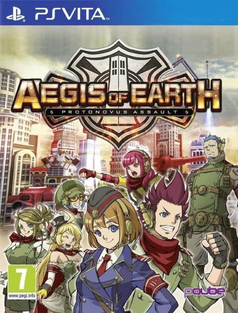 Aegis of Earth : Protonovus Assault sur Vita