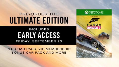 Forza Horizon 3 : L'Australie au centre de ce nouvel opus : E3 2016