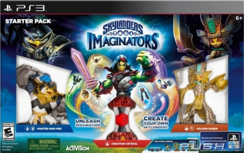 Skylanders Imaginators sur PS3