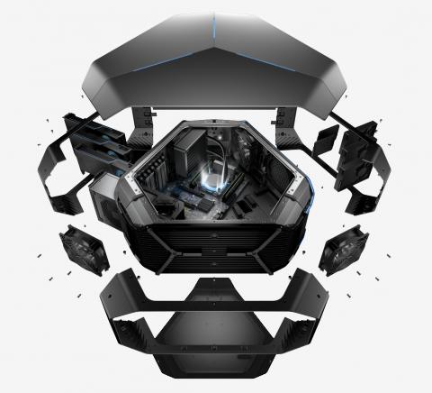 E3 2016 : Alienware rafraichit ses gammes de produits et présente son sac à dos VR