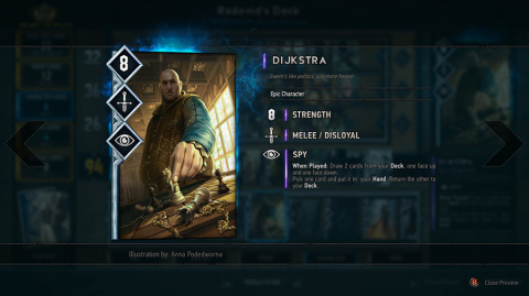 Gwent : The Witcher Card Game : E3 2016